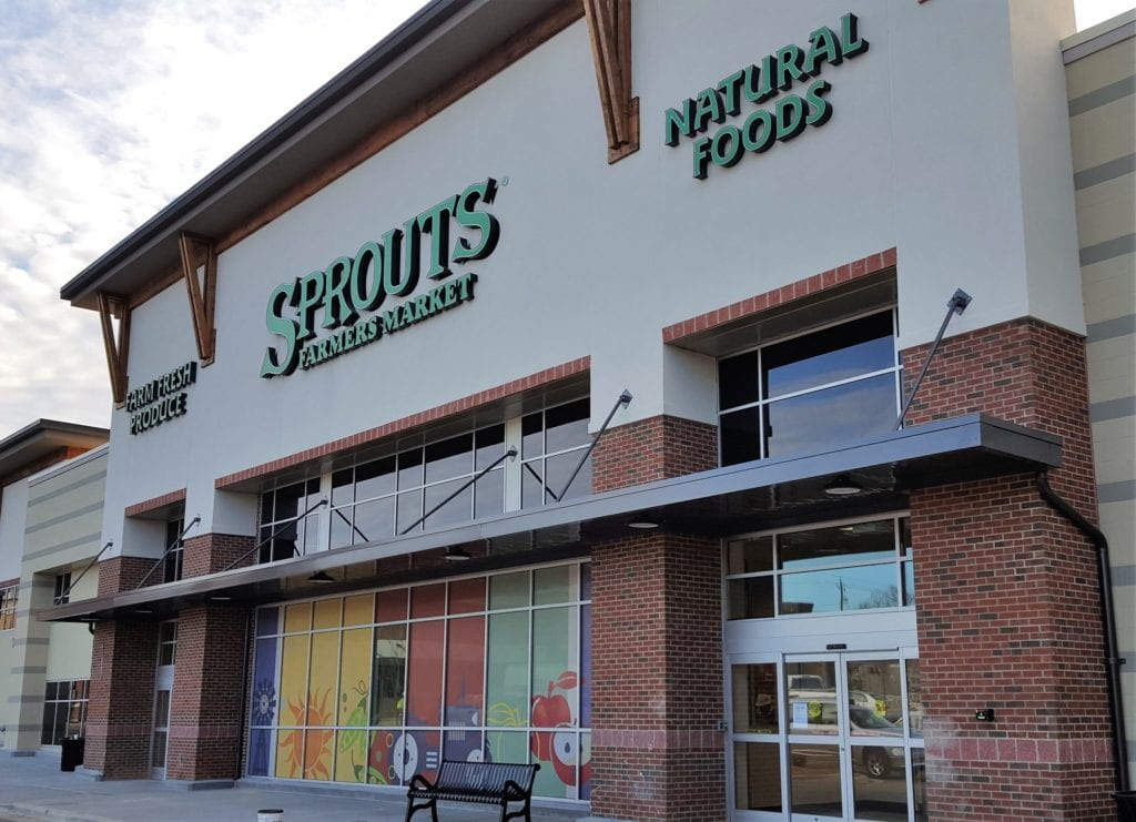 GHRC 300 Series Sprouts at Olive Park Retail in Raleigh, NC
